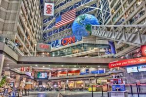 CNN Center, Atlanta. Credit: Matthew Paulson/Flickr CC BY-NC-ND 2.0