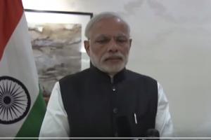 Prime Minister Narendra Modi (video screen grab.)