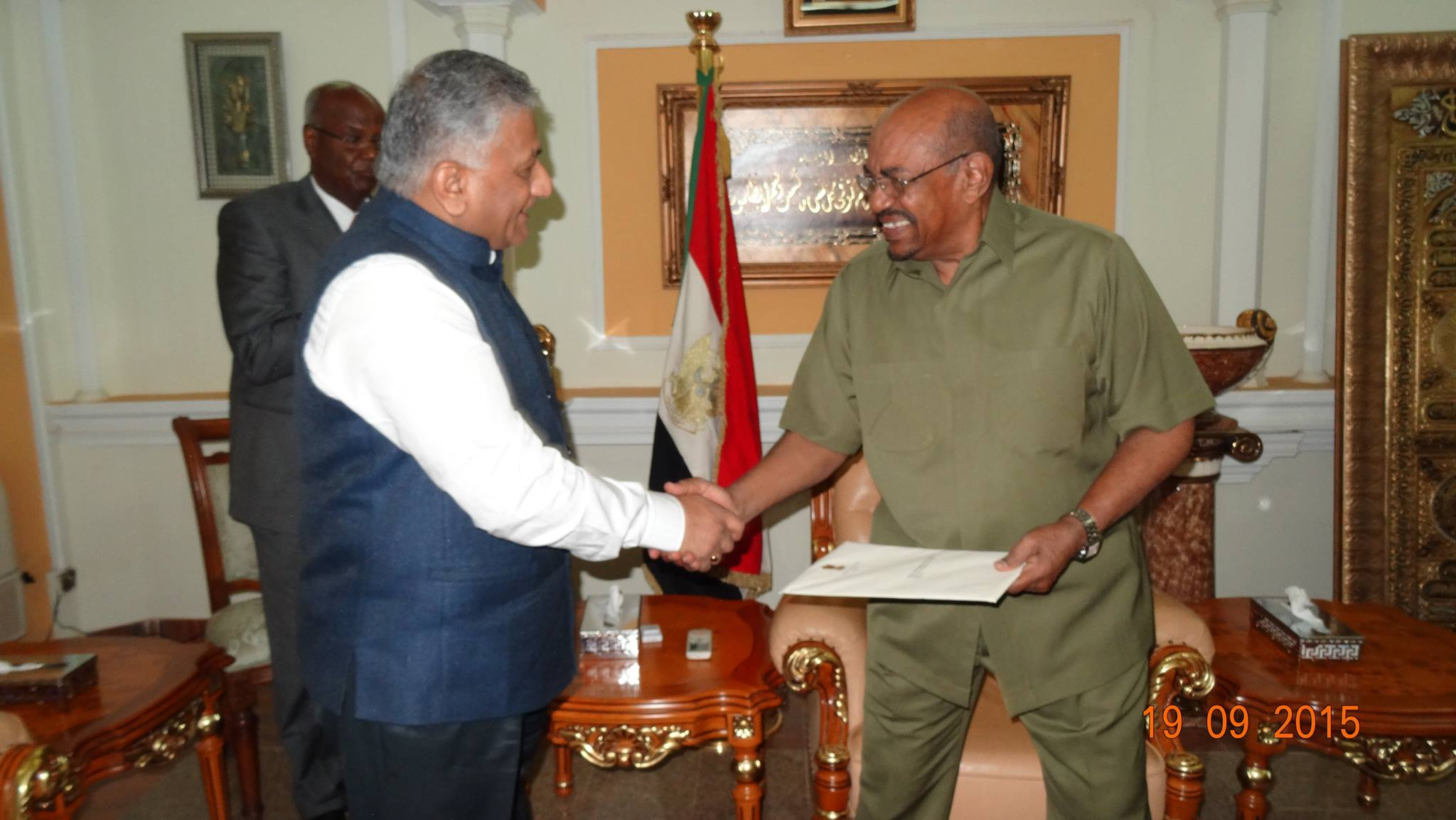 VK Singh Sudan Bashir