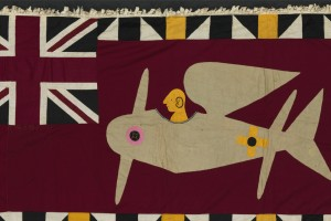 Fante Artists, Gold Coast, Africa, Asafo Flag 3, c.1900-40. © Pebble London Collection