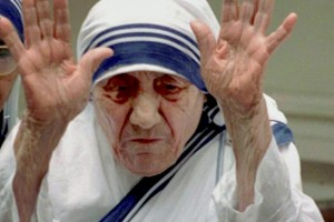 File photo of Mother Teresa, who will be canonised as saint of the Roman Catholic Church next year. Credit: PTI