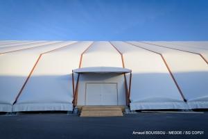 The 'Seine' plenary hall at the COP21 venue at Le Bourguet. Credit: UNFCCC