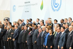 150 heads of state met in Le Bourget on the first day of COP21, which concluded with an agreement better than previous iterations but still criticised for not being strong enough. Source: UNFCCC