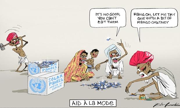 Cartoon by Bill Leak in the Australian