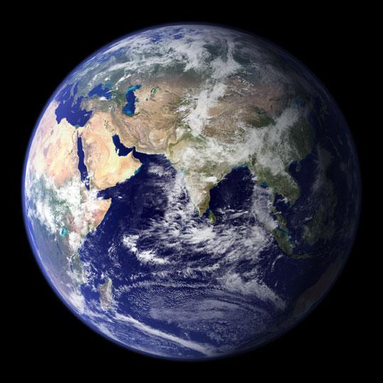 The blue marble. Credit: NASA