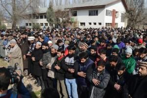 The Funeral-in-Absentia of Manzoor Ahmad Dar. Credit: Sameer Mushtaq