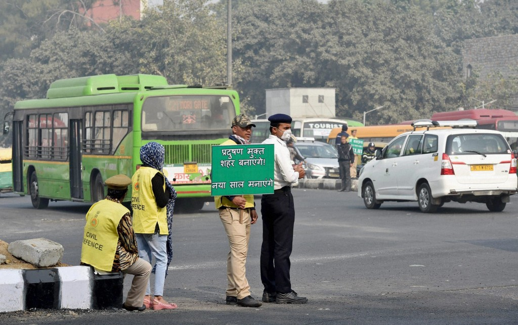 Delhi Air Quality Worsens 50% One Week Into Odd-Even