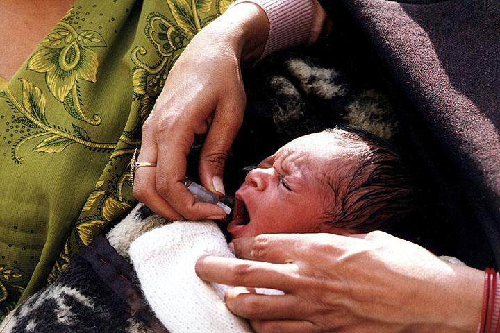 Two of Three Wild Poliovirus Strains Eradicated: WHO
