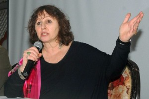 Leslee Udwin, director of India's Daughter, addresses a press conference. Credit: PTI