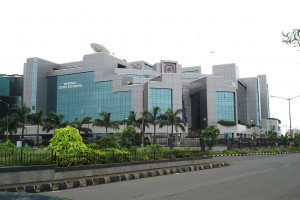 The headquarters of the National Stock Exchange, Mumbai. Credit: Wikipedia Commons