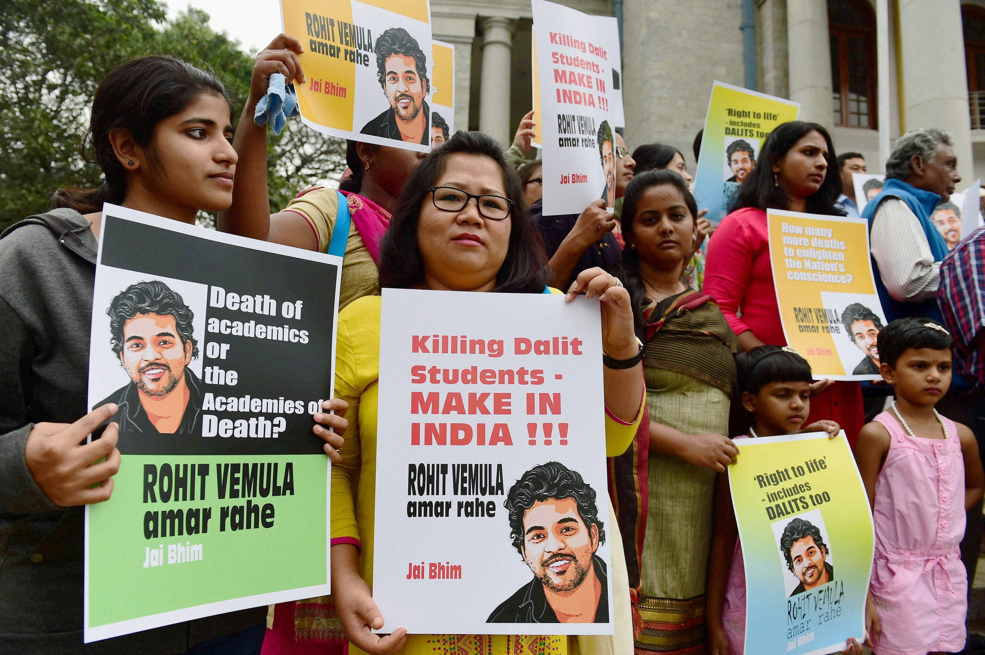 The Death of a Dalit Scholar is Not Just a Dalit Issue