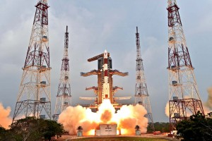 Launch of the IRNSS-1E satellite on January 20, on board a PSLV-XL rocket. Credit: ISRO