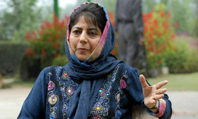 Chief minister Mehbooba Mufti. Credit: PTI
