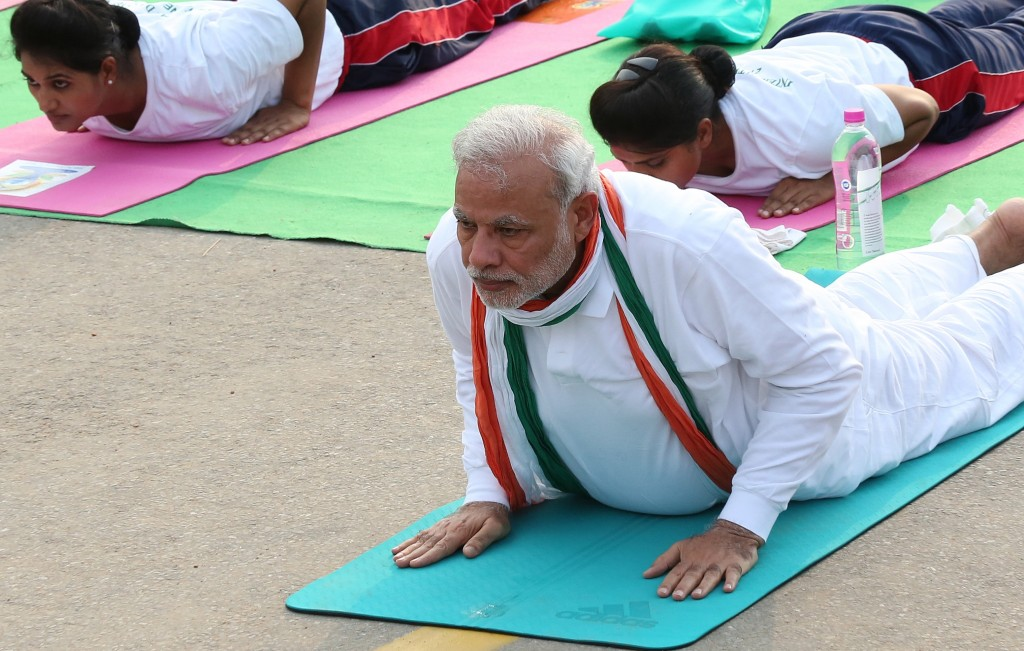Some Reflections on Yoga as Political Theology