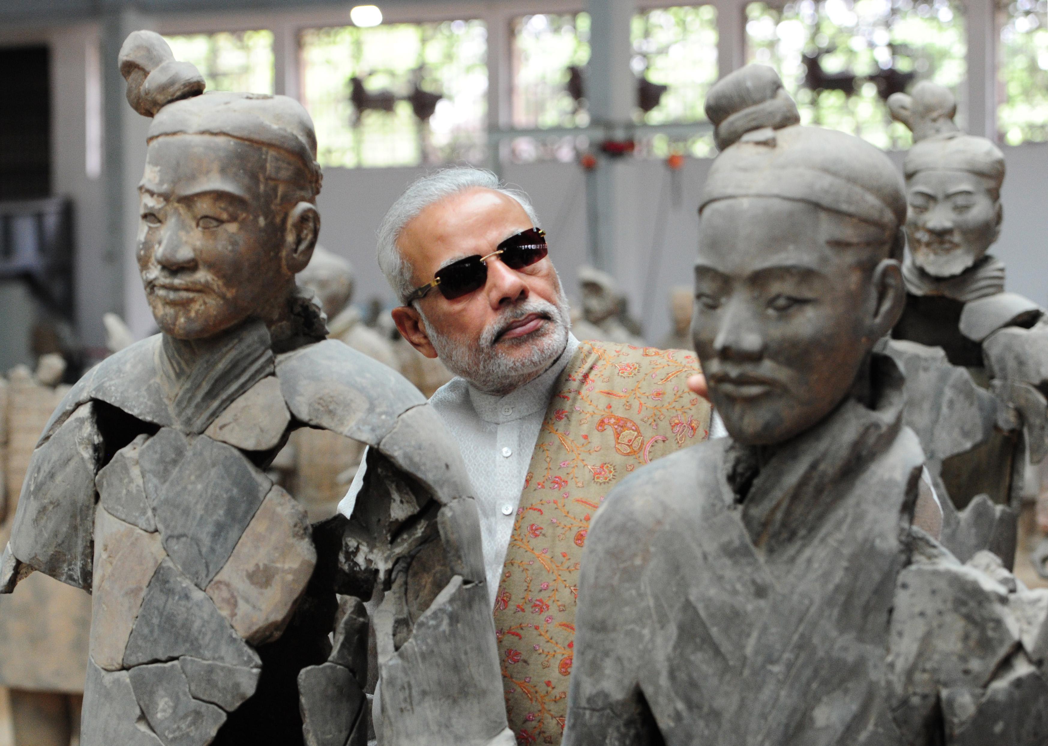 Prime Minister Narendra Modi in Xi'an, May 14, 2015. Credit: MEA