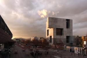 UC Innovation Center – Anacleto Angelini, 2014, San Joaquín Campus, Universidad Católica de Chile, Santiago, Chile. Photo by Nina Vidic