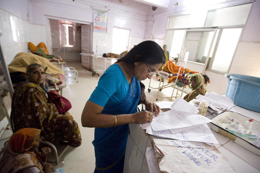 A maternity ward in Shivpuri. Credit: DFID/Flickr CC 2.0
