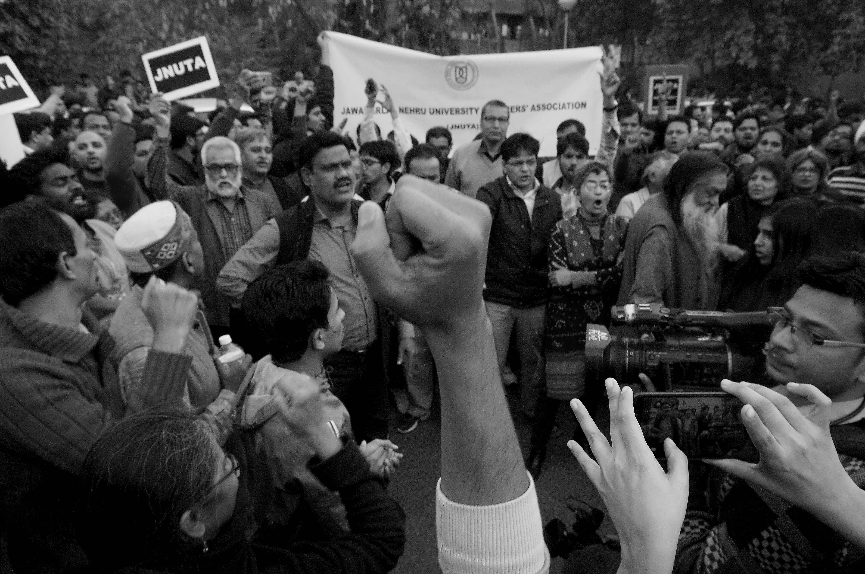As Rajnath Sees Lashkar Hand, Support for Arrested JNUSU President Mounts