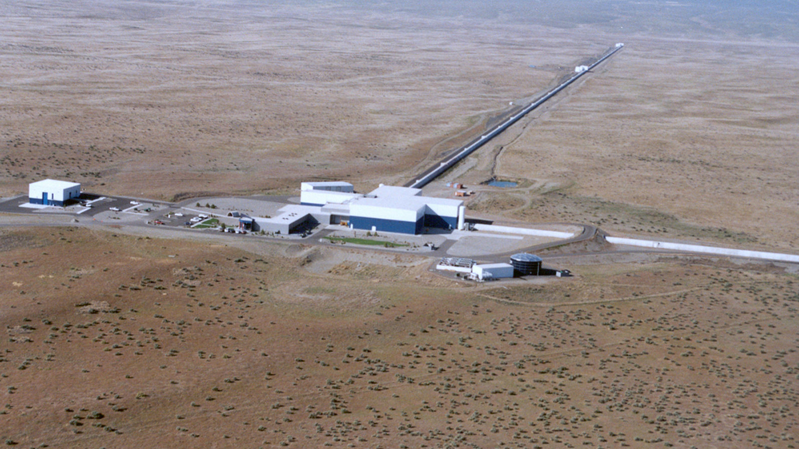 The Laser Interferometer Gravitational-wave Observatory in Hanford, Washington. Credit: Caltech/MIT/LIGO Lab