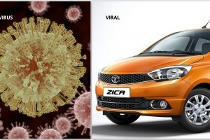 Bad Luck: In an unfortunate coincidence, Tata Motors' latest offering shares a similar name with a devastating mosquito-borne virus. Credit: Tata Motors,