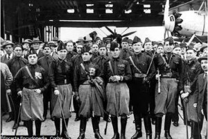 The blackshirts were squads of fascists who instilled fear and used violence against opponents