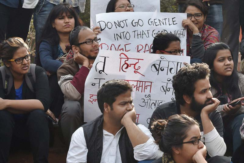Repression of Students in Delhi, Investment Campaign in Mumbai