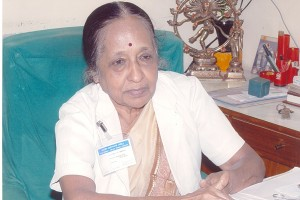 Dr. V Shanta who steered the Cancer Institute in Chennai to iconic status.