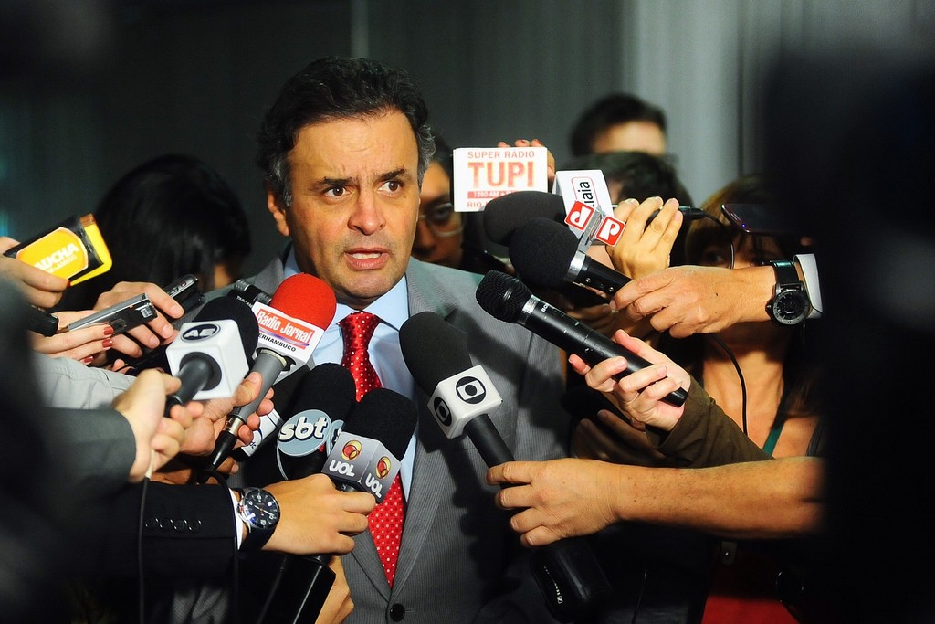 Aécio Neves. Credit George Gianni/Flickr CC 2.0