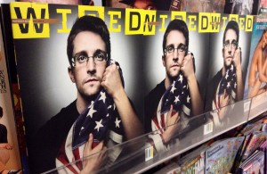 Edward Snowden on the cover of Wired magazine. Credit: Mike Mozart/Flickr CC 2.0