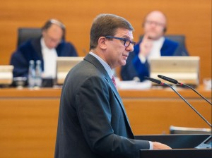 Francesco Azzarello, ambassador of Italy to The Netherlands, and 'agent' of Italy in the Enrica Lexie case. Credit: Daniel Bockwoldt/ITLOS