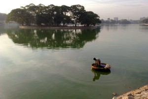 Ulsoor Lake in Bengaluru. Credit: araswami/Flickr, CC BY 2.0