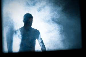 A man shrouded in smoke. Credit: davidjohny/Flickr, CC BY 2.0