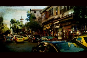 A sight in Damascus. Texture by Lenabem-Anna. Credit: Игорь М/Flickr, CC BY 2.0