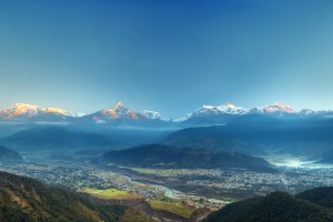 Pokhara vista. Credit: Dhilung Kirat/Flickr CC BY-NC-2.0