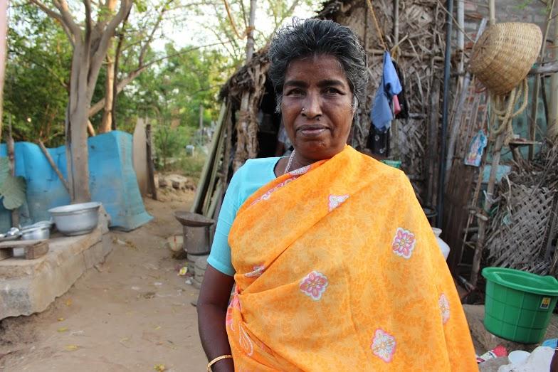 Burmese refugee Lakshmi has no one to care for her in her old age. Credit: Sandhya Ravishankar