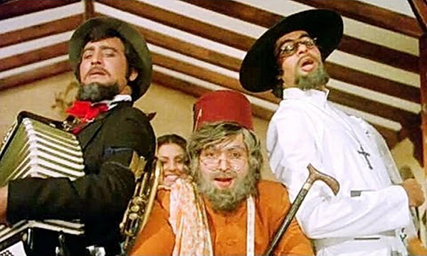 Image result for amar akbar anthony heroes