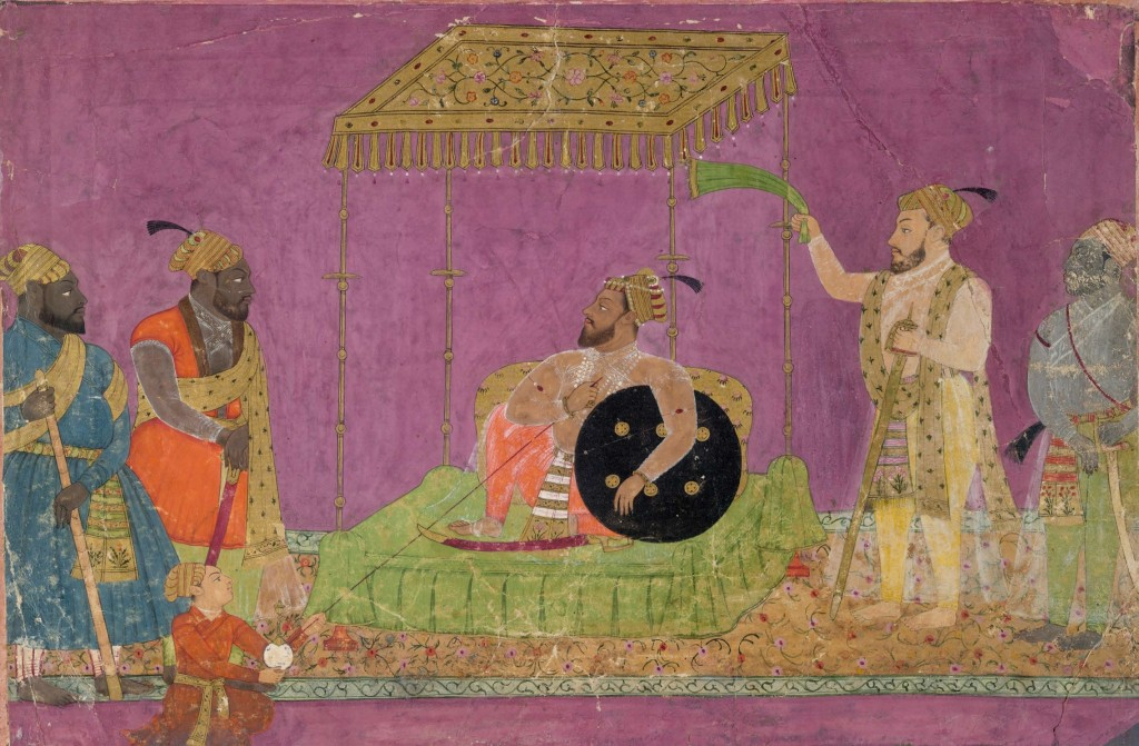 Sultan Muhammad Adil Shah of Bijapur and African countries, ca, 1640@ The British Library Board