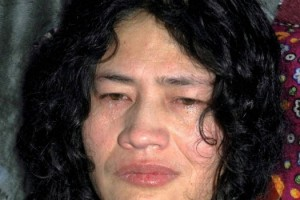 Irom Sharmila in a file photo. PTI
