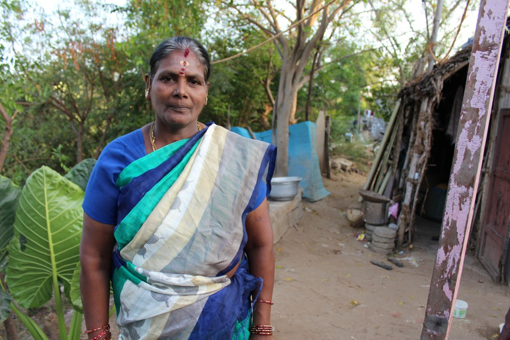 Maniammal exited from SHGs as there is no income in that anymore. Credit: Sandhya Ravishankar