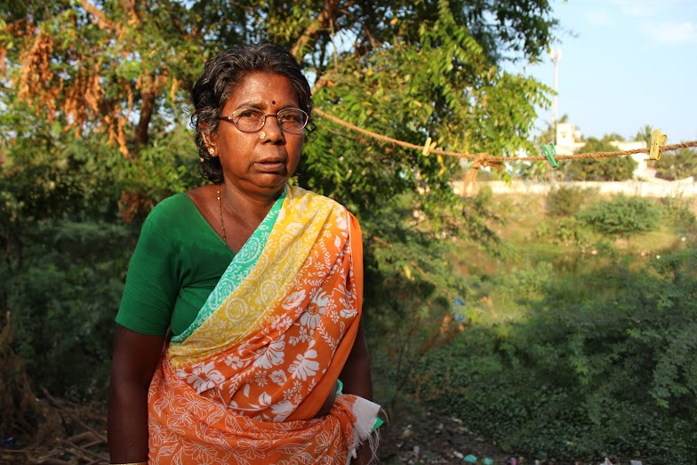 Rajamani says she has no money to care for her deteriorating health. Credit: Sandhya Ravishankar