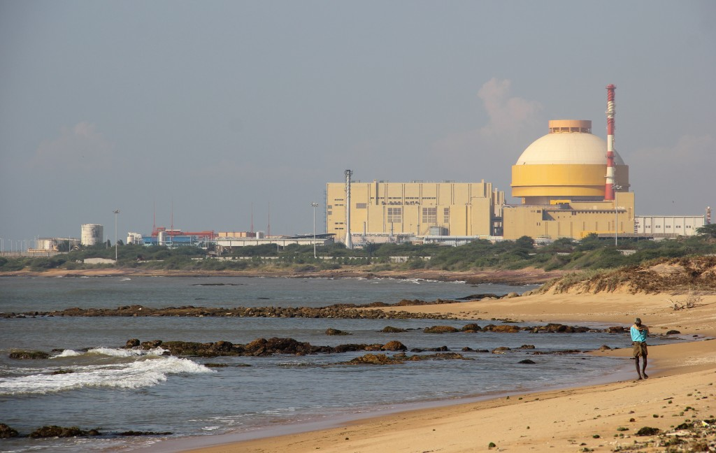 The Kudankulam Nuclear Power Plant in 2014. Credit: indiawaterportal.org/Wikimedia Commons, CC BY-SA 2.0