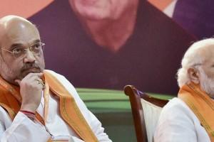 BJP president Amit Shah and Prime Minister Narendra Modi: Credit: PTI