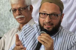 File picture of MIM leader Asaduddin Owaisi. Credit: PTI