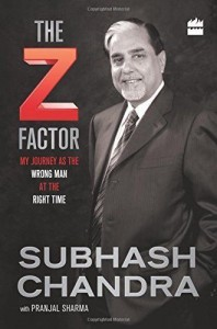 Cover photo of the Z Factor by Subhash Chandra