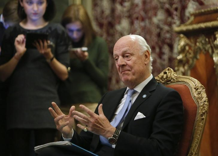 UN Syria Envoy Delays Peace Talks to Ensure Players Are Serious