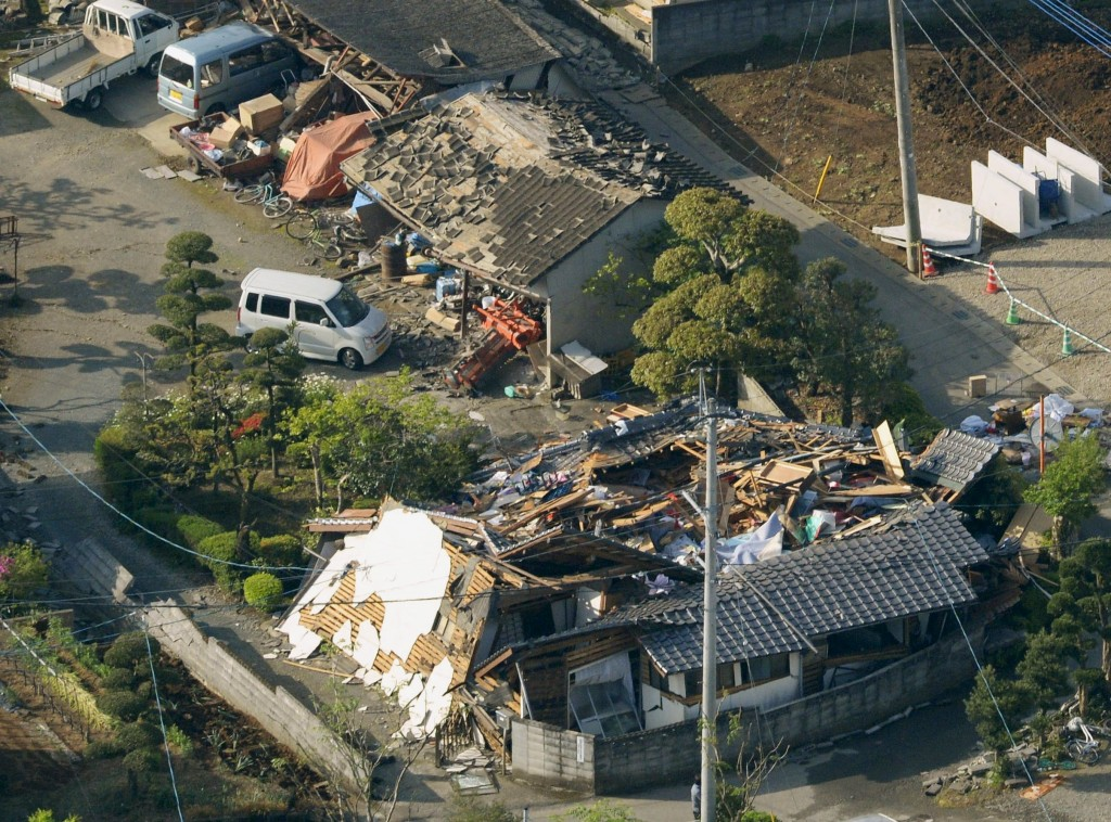 Strong Quake in Japan Kills At Least Nine, Nuclear Plants Safe