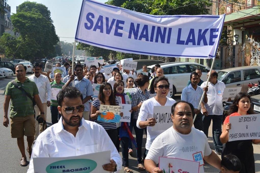 Locals, Government Join Hands to Save Delhi's Naini Lake