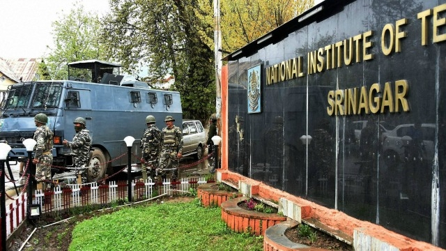 Discontent Runs Deep at NIT Srinagar as Kashmir Remains Tense
