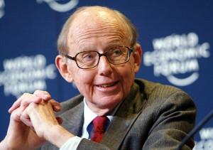 Samuel Huntington believed too many people had mobilised and participated too much, causing an overload on the political system. Credit: Wikimedia Commons