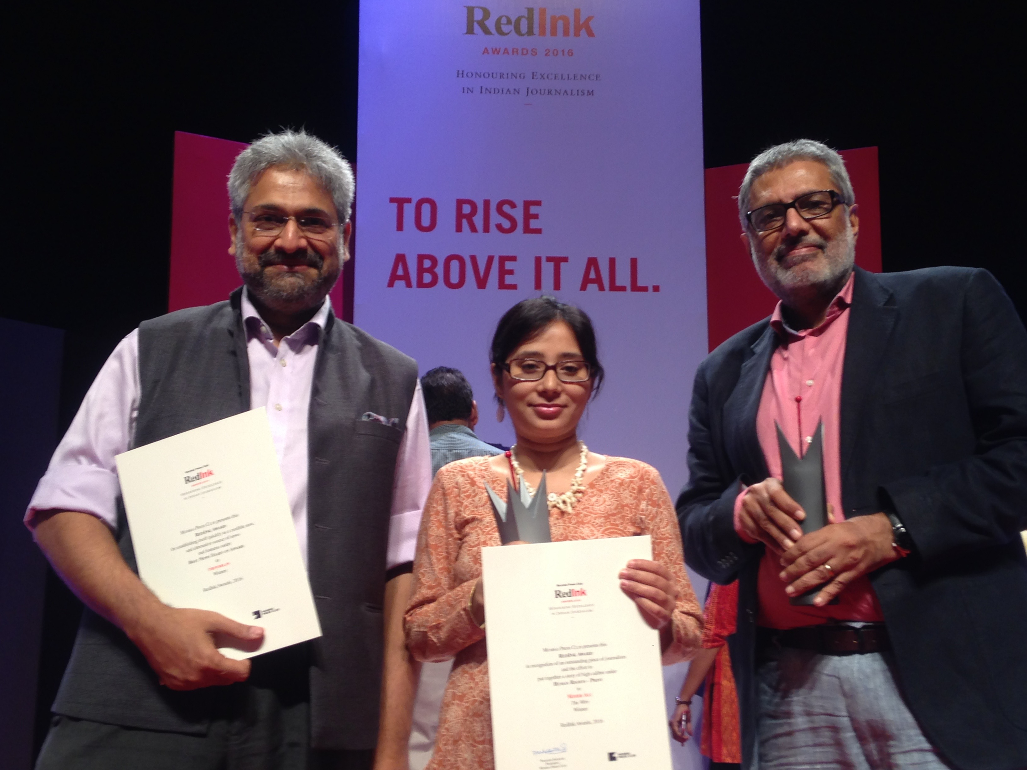 The Wire Wins RedInk 'Media Start-up of the Year' Award